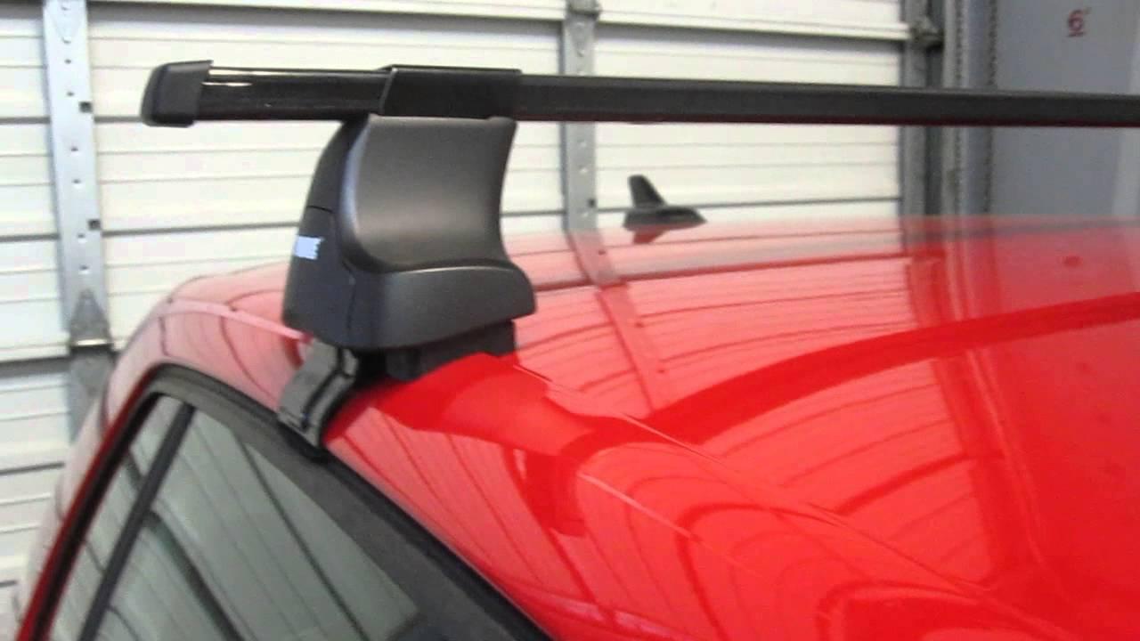 Volkswagen Golf 5 Door With Thule 480 Traverse Square Bar