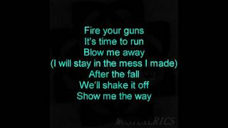 Breaking Benjamin (feat. Valora) - Blow Me Away (Lyrics)