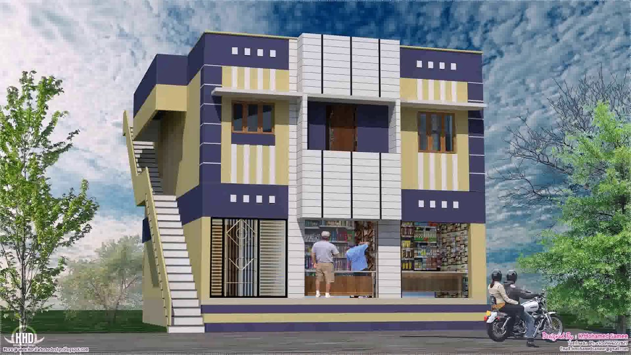Exterior Design Of Ground Floor House