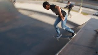 Video My First - Drop In on a Skateboard download MP3, 3GP, MP4, WEBM, AVI, FLV Agustus 2018