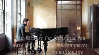 Matt Cardle - Millionaire (lyrics)
