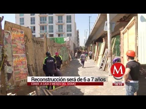Tras sismo, reconstrucción de CdMx tardará hasta 7 años