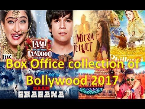 Box office collection of Laali Ki shaadi mein Laaddoo deewana, Mirza Juuliet, Naam shabana,Phillauri