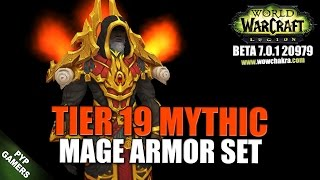Wow Tier Mythic Pvp Mage Armor Set