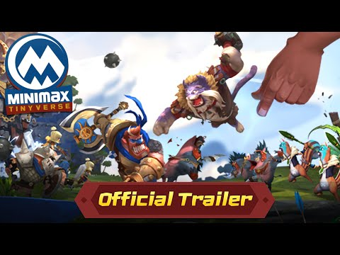 MINImax Tinyverse Global release - official Trailer