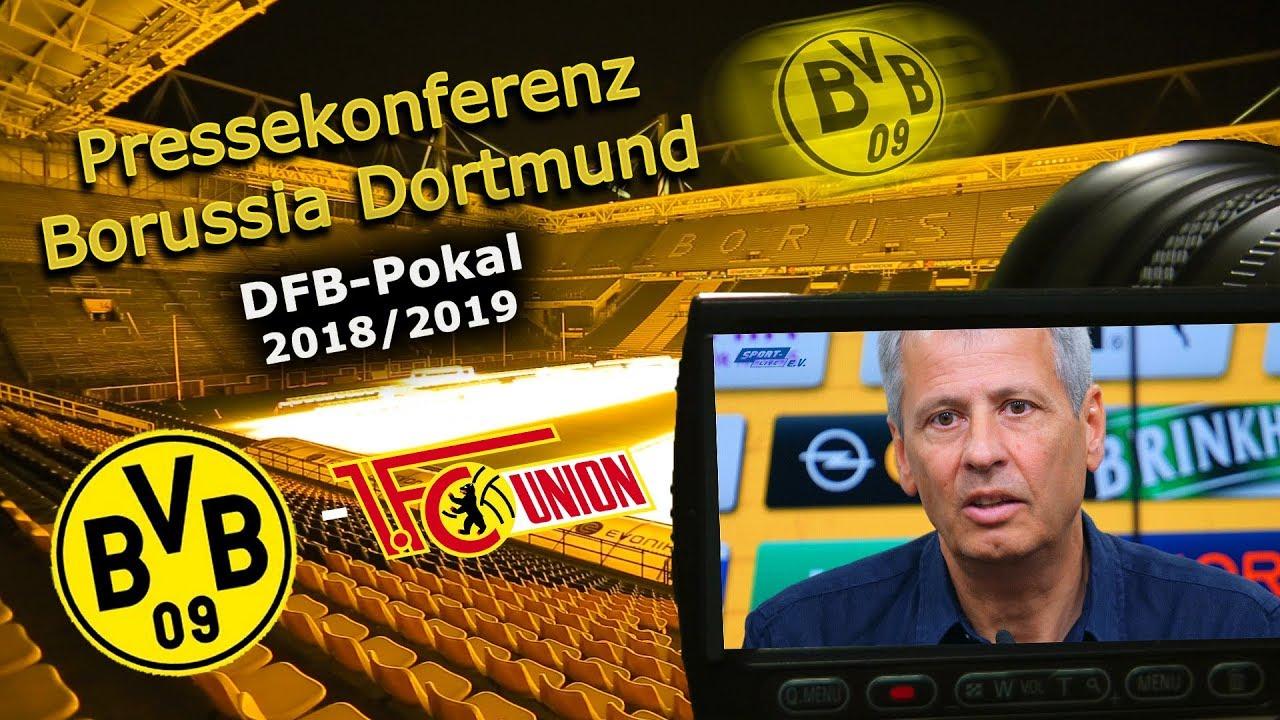 Borussia Dortmund - 1. FC Union Berlin: Pressekonferenz nach dem Spiel