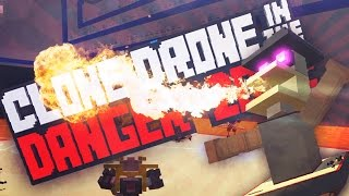 FIRE BREATH CHALLENGE!!!?! - Clone Drone in The Danger Zone (Steam Update 0.6) (Gameplay)
