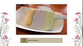 Asian Desserts