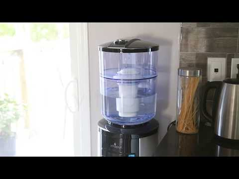 Vitapur GWF8/GWF8BLK Water Filtration System for Top-load Dispenser