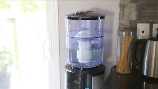 Vitapur GWF8/GWF8BLK Water Filtration System for Top-load Dispenser