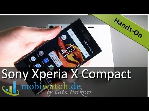 Sony Xperia X Compact: Alle Infos zum neuen Kraftzwerg | Test