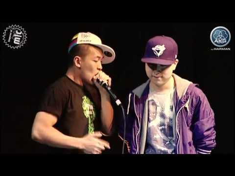 Beatboxing dharni vs. krNfx - Semi final - Emperor of Mic 2011 from YouTube · Duration:  9 minutes 17 seconds