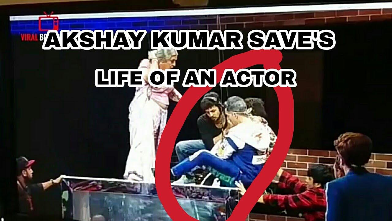 Download Akshay Kumar saving life of an actor | movie masti with manish paul