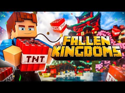FALLEN KINGDOMS : Énorme Soirée PVP avec les 12 meilleurs joueurs de Minecraft !