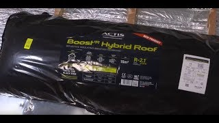 Pitched Roof insulation with Boost'R Hybrid ROOF
