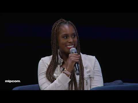 PERSONALITY OF THE YEAR KEYNOTE - ISSA RAE - MIPCOM 2018
