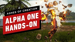 Ashes of Creation: Alpha One Hands-On Preview