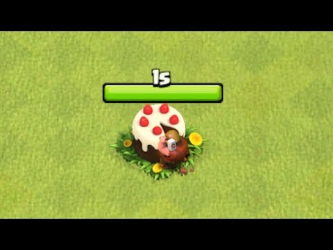 Clash of Clans - WHAT HAPPENS IF YOU REMOVE THE ANNIVERSARY CAKE?