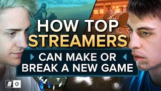How Top Streamers like Ninja, Shroud and DrDisRespect Can Make or Break a New Game