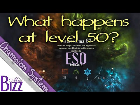 What Happen at Level 50 in ESO? Reaching max rank Elder Scroll Online - Gear and Championship System
