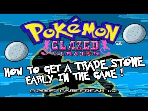 Pokemon Glazed - Early Game Trade Stone Tutorial