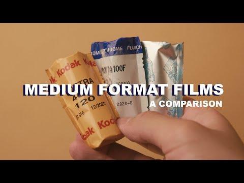 MUST TRY Medium Format Color Films - A Comparison