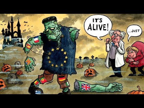 The EU monster is falling apart, and has never looked so grim