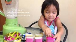 Zara Membuat Ice Cream Oreo