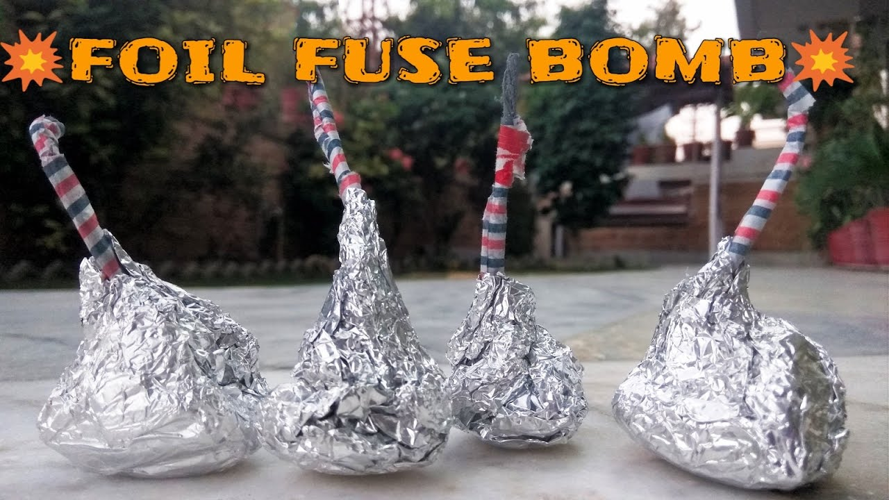 how to make firework fuse wire