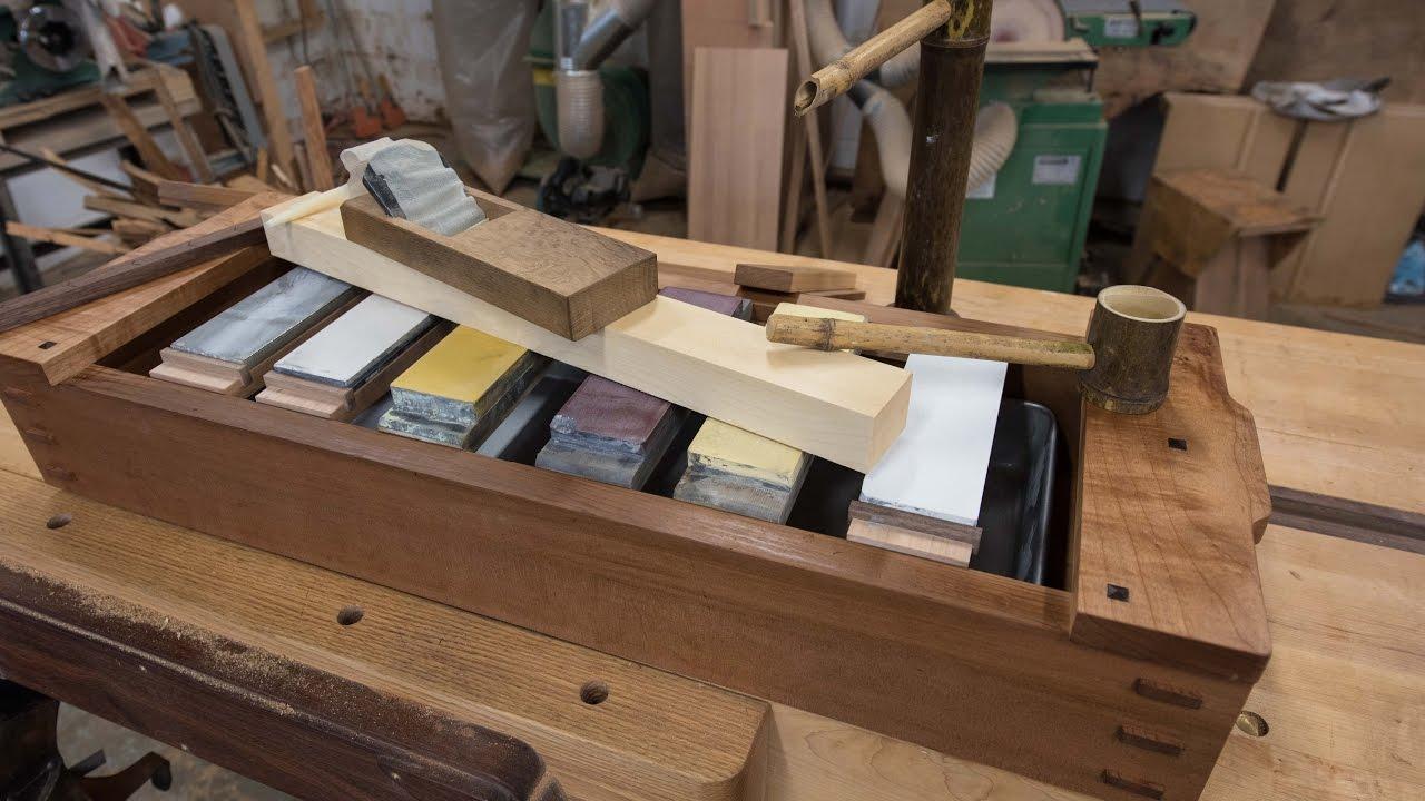 Japanese Tool Box Sharpening Station
