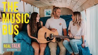 AMAZING Self-Converted BUS TOUR: Traveling Musician James Abberley in Australia // CHASING DREAMS