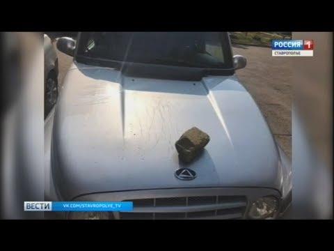 Хулиганы в Ставрополе поцарапали чужие автомобили