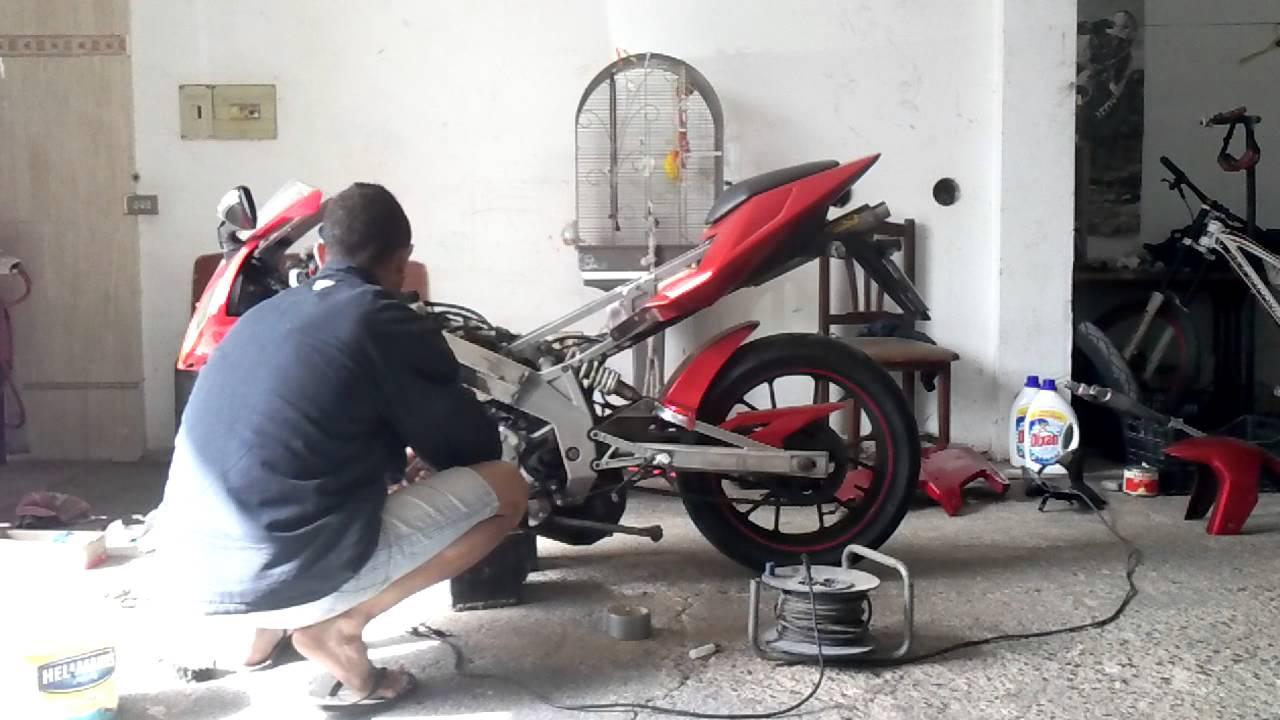 Moderno Cómo Pintar Chasis De La Motocicleta Ilustración - Ideas ...