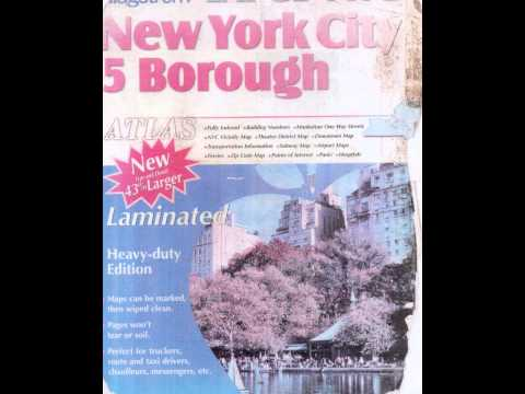 NYC 5 Borough map and United States 50 state map