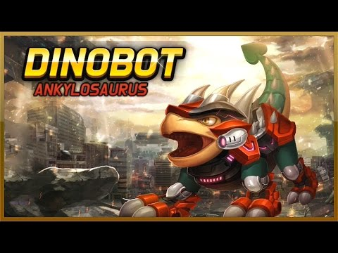 DinoBot Ankylosaurus - Stage 1 To Stage 19 - Full Game Play - 1080 HD