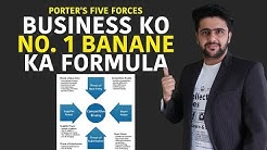 Business Ko No.1 Banane Ka FORMULA | Porter's Five Forces