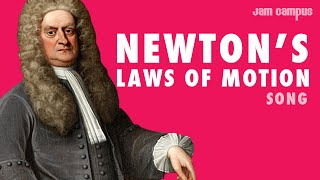 NEWTON'S LAWS OF MOTION SONG