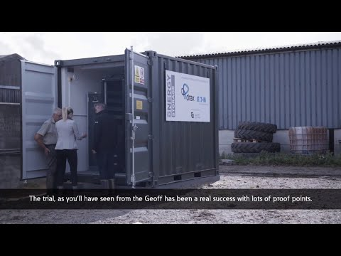 Eatons xStorage Energy Storage System enables UK businesses to manage their energy consumption