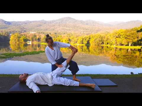 Thai Yoga Massage by Merit Kaasiku in Chiang Mai, Thailand