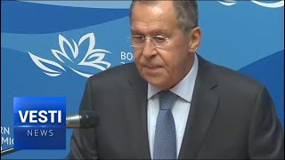Absolutely Terrible: Lavrov Tells it Straight to Russian Diplomat Corps Recruits About US Relations