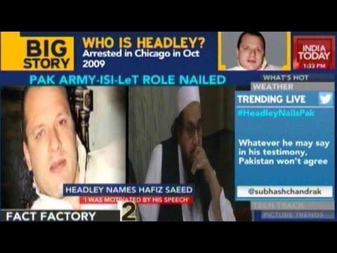Pak Army, ISI And Lashkar Exposed By David Headley