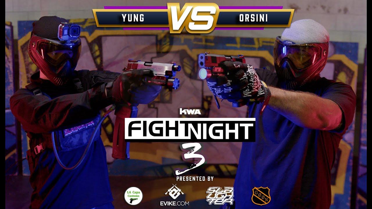 KWA Fight Night 3   Yung vs Manny   1 vs 1 Airsoft Gulag