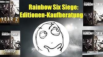 Editionen-Kaufberatung Rainbow Six Siege (STARTER,COMPLETE,YEAR 2 etc.)