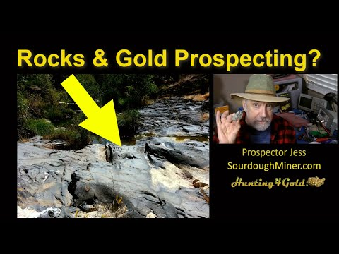 Rocks and Gold Prospector Jess Q and A (Gold Prospecting Geology Series)