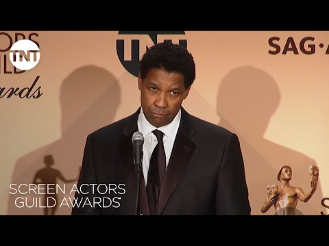 Denzel Washington: Press Room Q&A | 23rd Annual SAG Awards | TNT