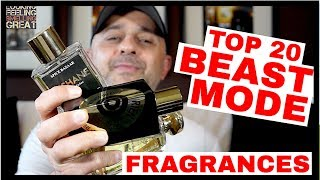 Top 20 Beast Mode Fragrances | My Top 20 Beast Mode, Longest Lasting Fragrances, Perfumes ☢️☢️☢️