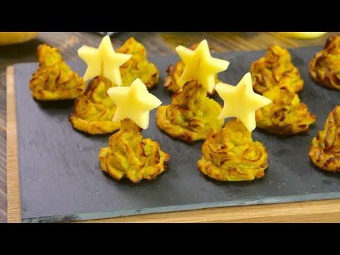 Mashed Potato Christmas Trees: A Fun Starter To Serve At Christmas Dinner!