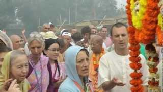 H.H. Gopal Krishna Goswami, Navadvipa Mandala Parikrama 2011, Guru Puja
