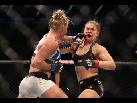 Ronda Rousey Reacts To Holly Holm Knockout Loss At UFC 193