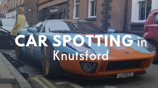 Some car spotting in Knutsford (April 2017)